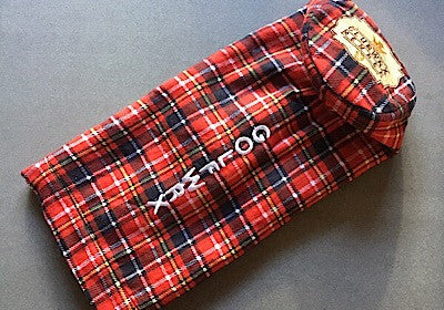 ClubWRX Red Tartan Driver Headcover ***Limited First Run 1/50***
