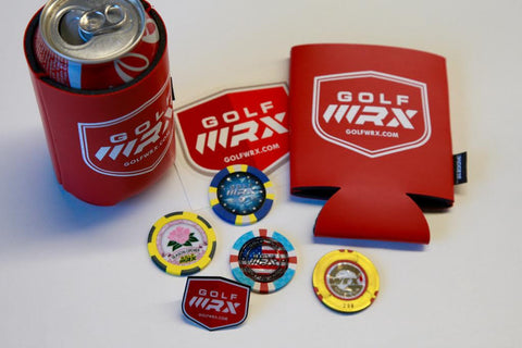 WRX Koozie, Set of Chips and a Pin Bundle -  ***Limited Quantites***