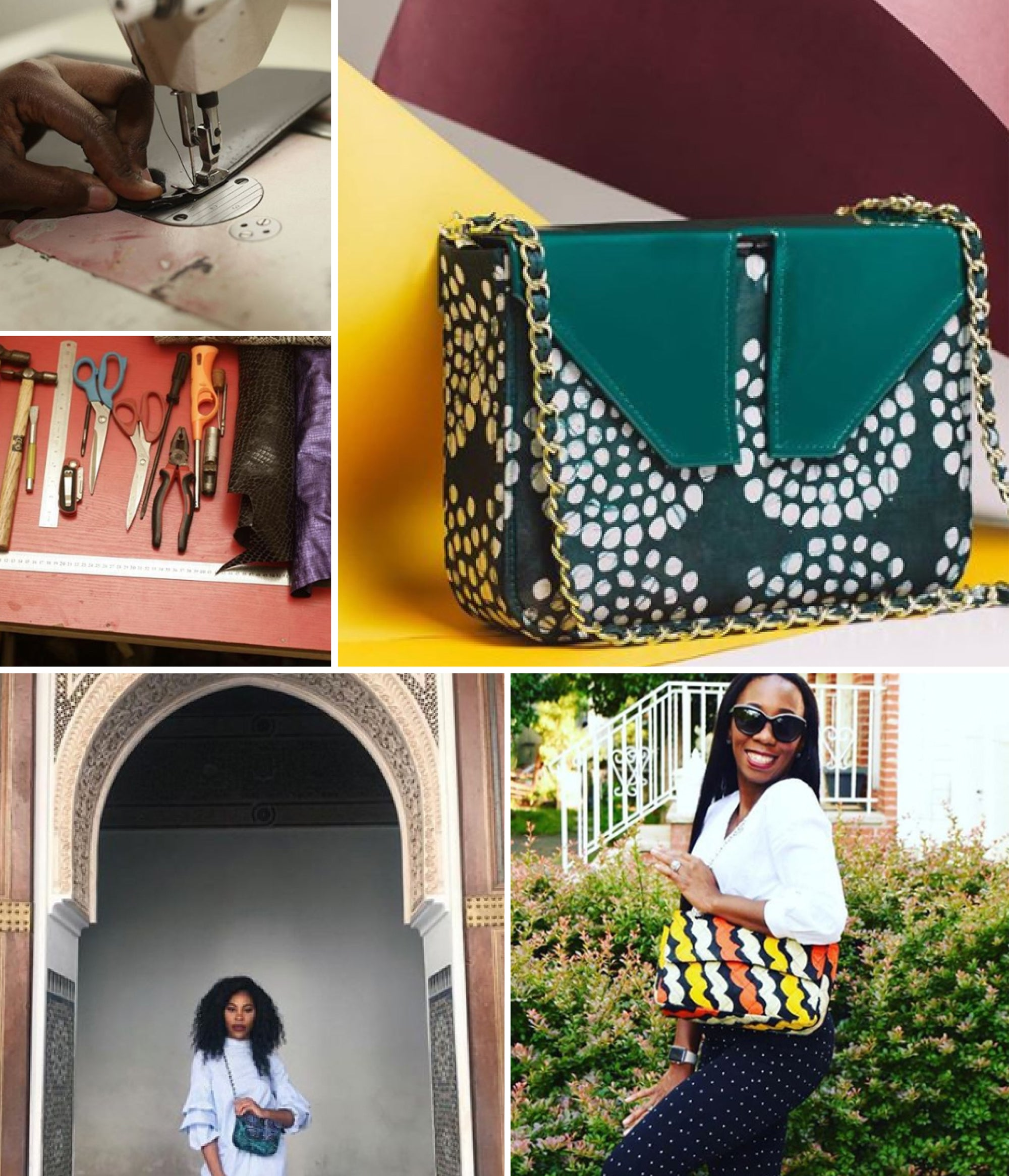 LeyeLesi African Hand Bags