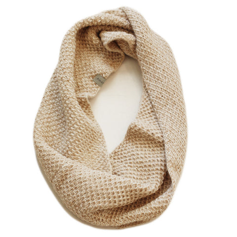 Honeycomb Snood - Oatmeal