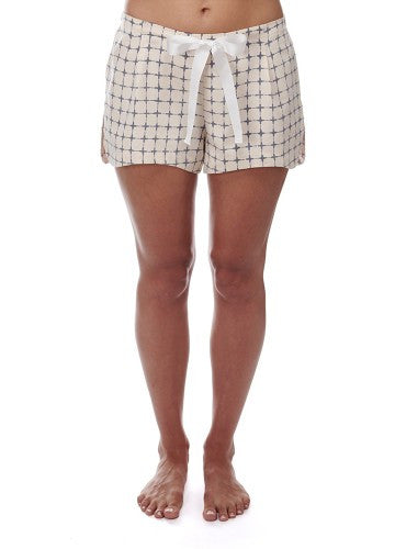 Navy Cross Cotton Shorts
