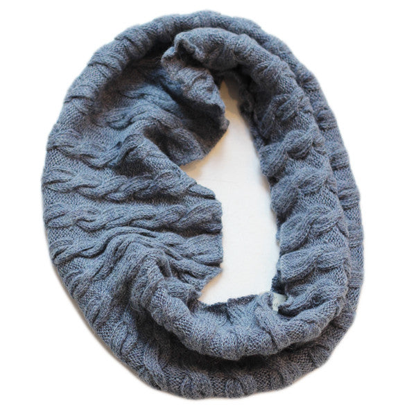 Loop Snood - Slate Blue