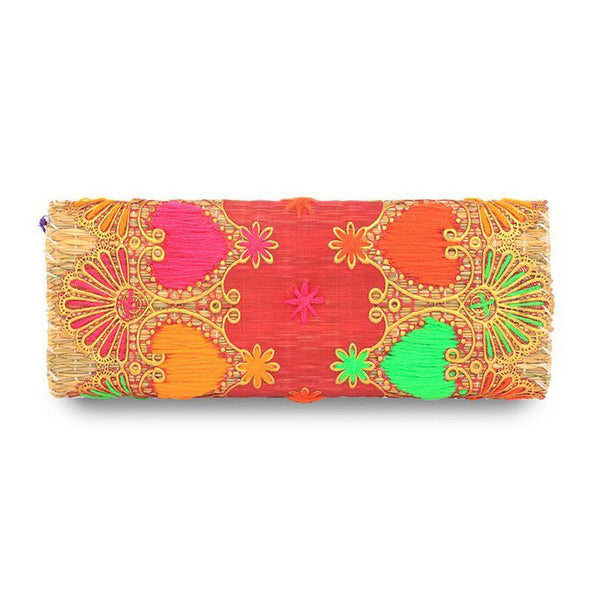 Kate Straw Clutch 2