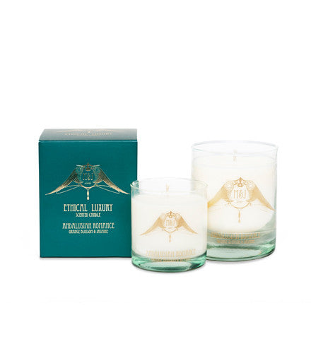 Andalusian Romance Candle (Orange Blossom and Jasmin)