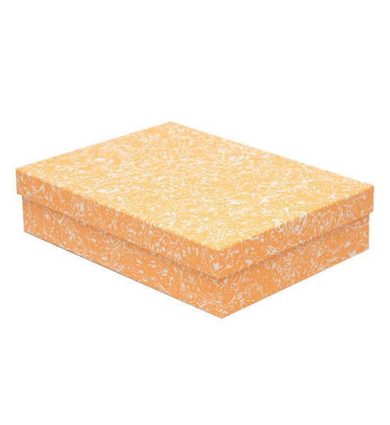 'Stormont' Light Orange Decorative Box