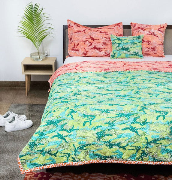 Big Cat Camo Single Quilt