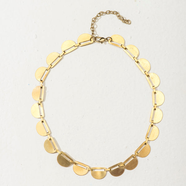 Shaheen Elegance Necklace - Gold