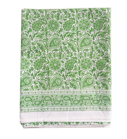 Green Tablecloth Table Linen