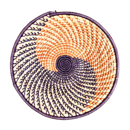 Orange & Purple Nubian Basket