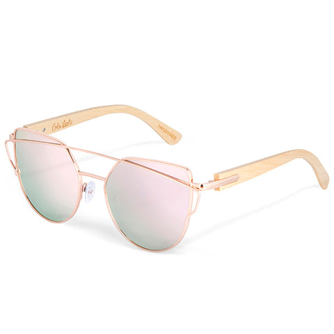 Mayfair Bamboo & Rose Sunglasses