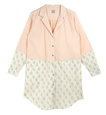 Blush Blazer Nightshirt