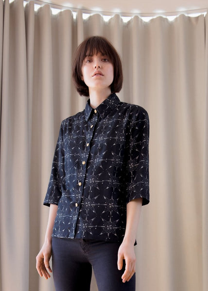 Cee Cee Shirt Black Star Print