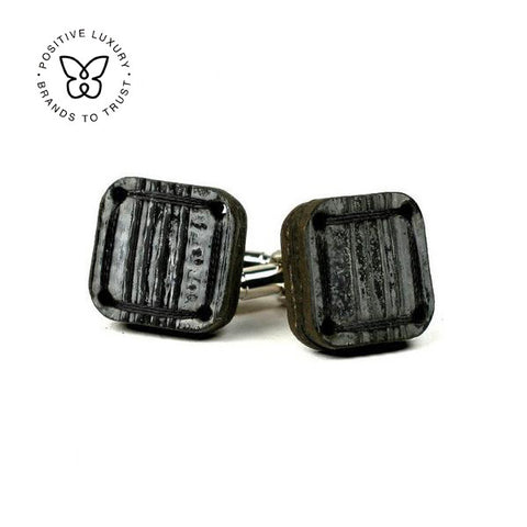 Torpedo Cuff Links - Black