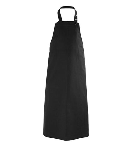 Black Long Apron