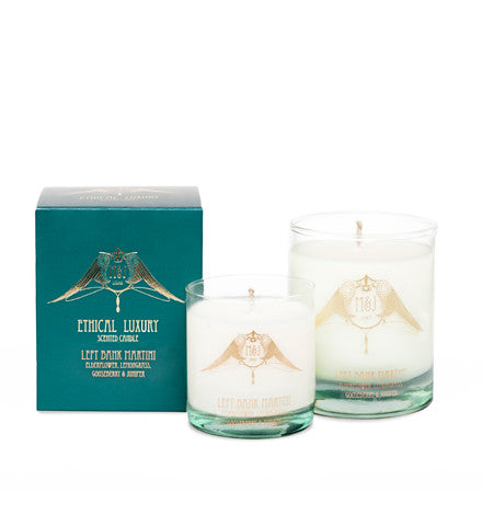 Left Bank Martini Candle (Elderflower, Lemongrass, Gooseberry & Juniper)