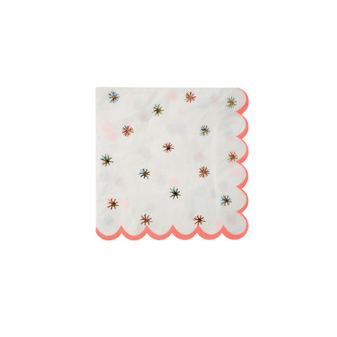Nutcracker Gold Star Napkins