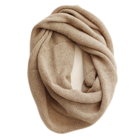 Plain Snood in Oatmeal