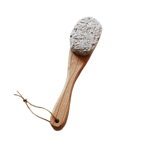 Wooden Handled Pumice Stone