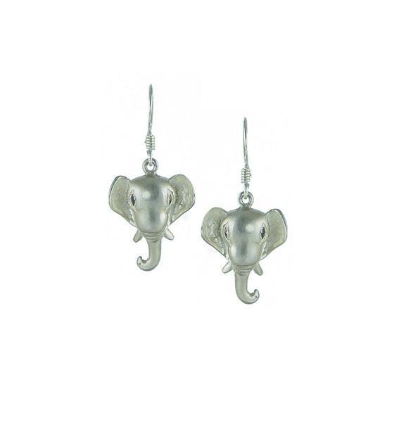 Silver Ganesha Earrings