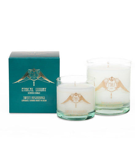 Sweet Beginnings Candle (Lavender, Manuka Honey & Cocoa)
