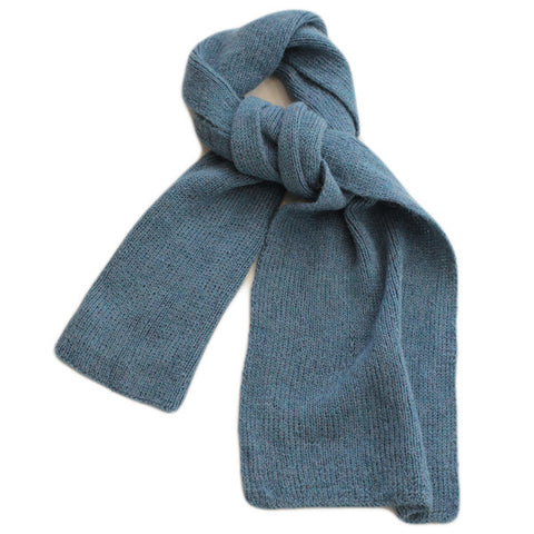 Plain Sea Green Scarf