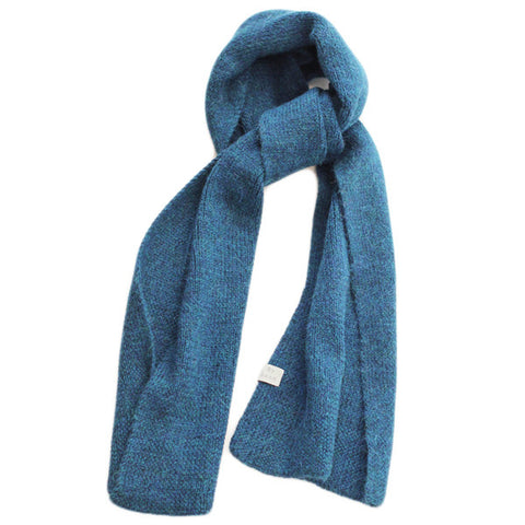 Plain Teal Scarf
