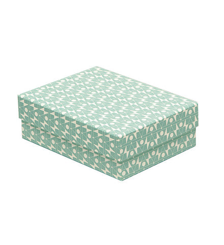 'Frequency' Light Blue Decorative Box