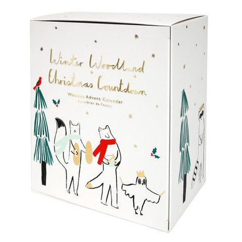 Meri Meri Winter Woodland Christmas Countdown Advent Calendar