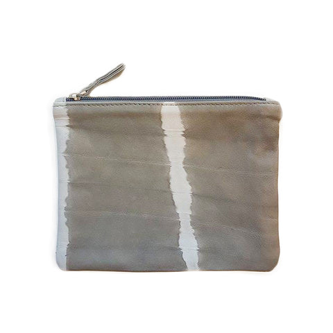 Yanet Pouch in Grey Stripe