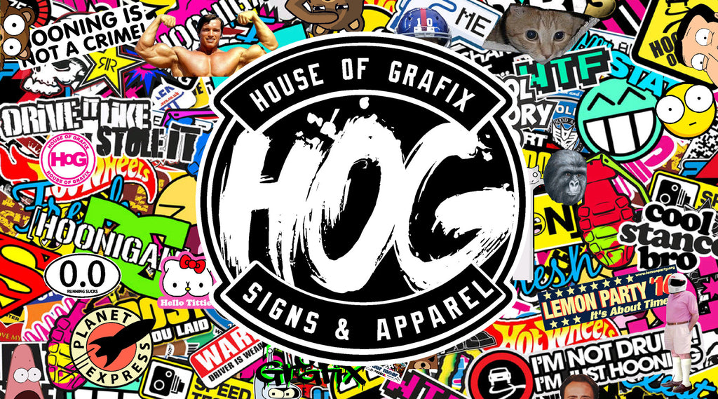 Welcome to the new House Of Grafix website!