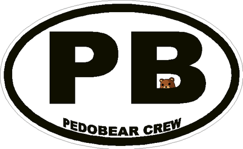 Pedobear Crew Decal