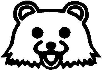 Pedobear Face Viny Sticker