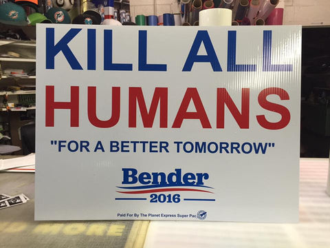 KILL ALL HUMANS for a better tomorrow