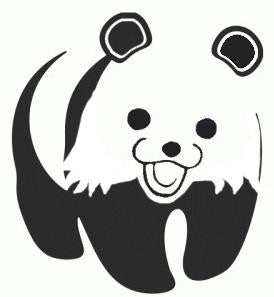 WWF PedoBear Vinyl Cut decal