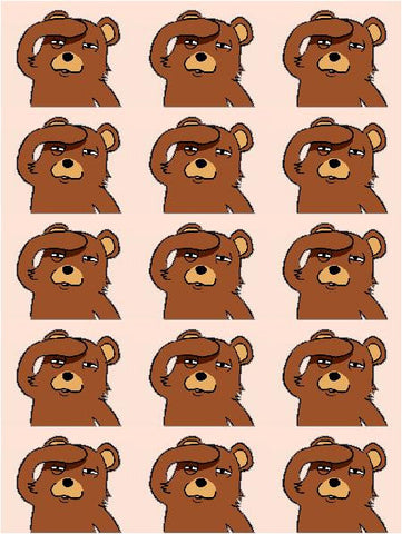 Mini Pedobear Decals