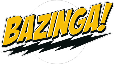 Bazinga Color Decal