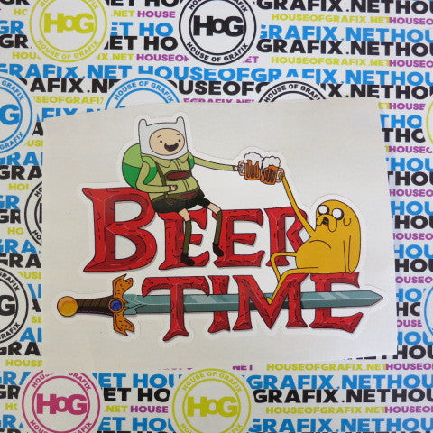 Beer Time Decal