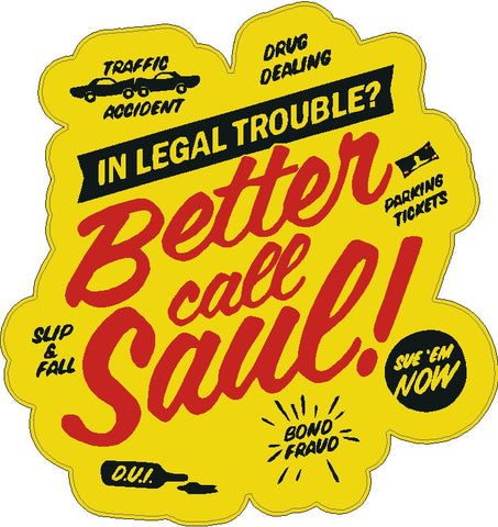 BetterCall Saul Decal