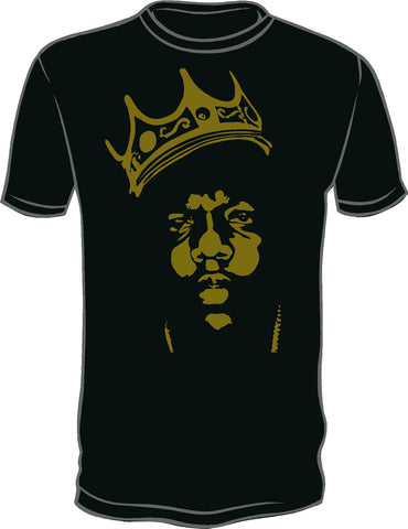 Biggie The Notorious B.I.G. Shirt Gold Chain