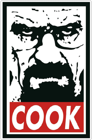COOK  Breaking Bad Decal