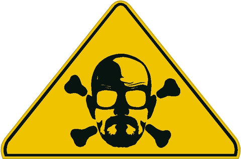 DANGER Breaking Bad Decal
