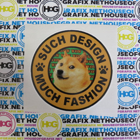 Doge Such Design Decal