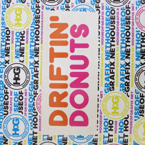 Driftin Donuts Decal