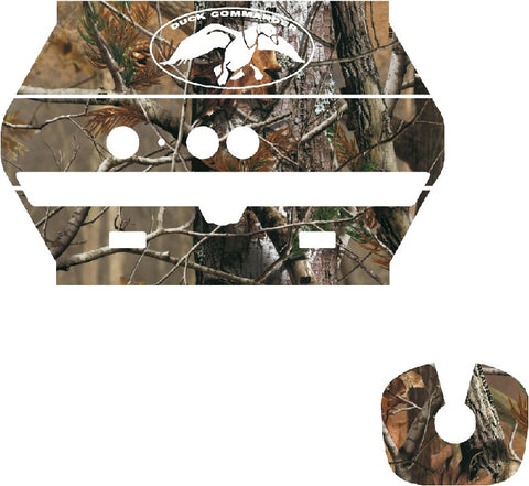 Duck Dynasty Wood Camo Kinect Wrap Skin