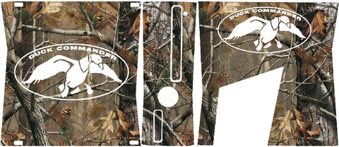 Duck Dynasty Wood Camo XBOX Slim wrap Skin