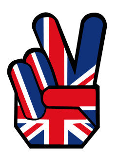 England Peace Hands