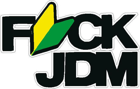 FUK JDM Decal