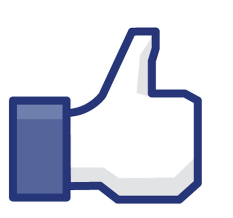 Facebook Like This Thump Decal