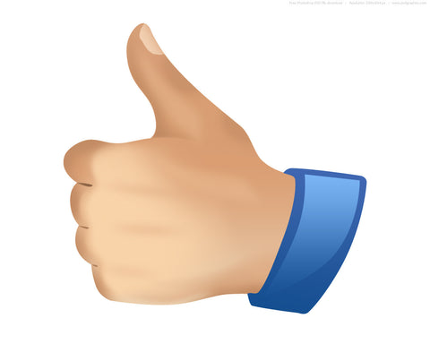Facebook Thumps UP REAL decal