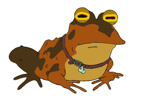 Futurama Toad Decal